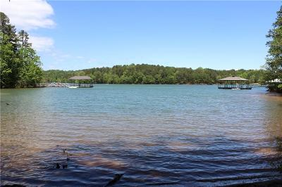 West Union, Seneca/west Union Residential Lots & Land For Sale: Lot 1 Barefoot Cove