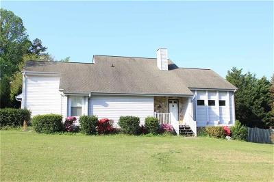 Oakwood Estate Single Family Home Contract-Take Back-Ups: 303 Oakwood Estates Drive