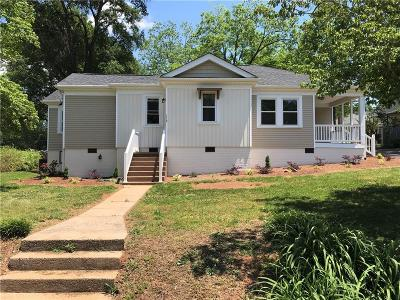 Pickens Single Family Home For Sale: 112 Glassy Mountain Street