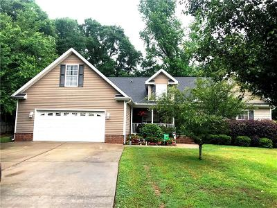 Anderson Single Family Home For Sale: 506 Canebrake Drive