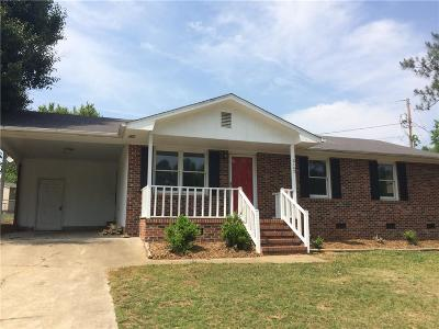 Anderson Single Family Home For Sale: 2102 Rolling Green Road