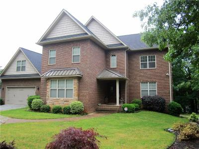 Anderson County, Oconee County, Pickens County Single Family Home For Sale: 368 E Lakeshore Drive