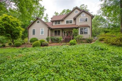 Clemson Single Family Home Contract-Take Back-Ups: 571 Issaqueena Trail