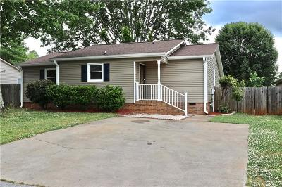 Easley Single Family Home For Sale: 106 Terrace Road