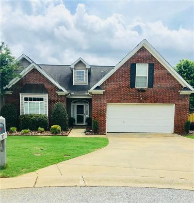 Simpsonville Single Family Home Contract-Take Back-Ups: 312 Schooner Court