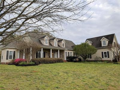 Belton SC Single Family Home Contract-Take Back-Ups: $450,000