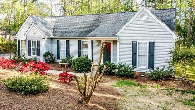 Oconee County Single Family Home For Sale: 127 Sycamore Lane