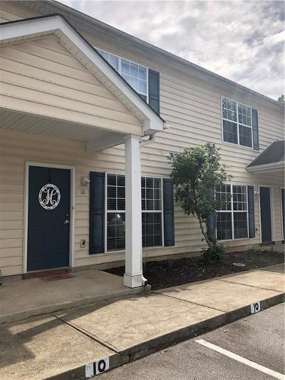 Greenville County Townhouse For Sale: 10 Rimmon Trail