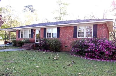 Honea Path SC Single Family Home For Sale: $67,000