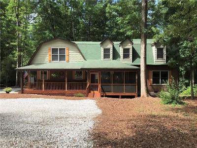 Liberty Single Family Home Contract-Take Back-Ups: 363 Whitmire Hill Road