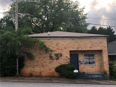 Walhalla Commercial For Sale: 107 N Tugaloo Street