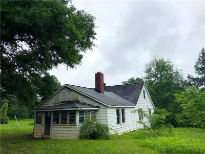 Central Single Family Home For Sale: 705 Old Seneca Highway