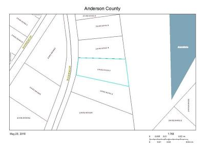 Townille, Townville Residential Lots & Land For Sale: 134 Buckhead Drive