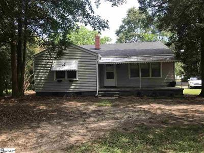 Williamston Single Family Home For Sale: 2 Davis Street