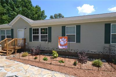 Anderson County, Oconee County, Pickens County Single Family Home For Sale: 106 E Shore Drive