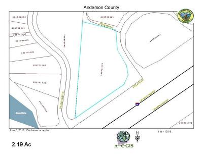 Townville SC Residential Lots & Land For Sale: $12,000