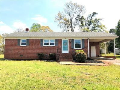 Pickens Single Family Home Contract-Take Back-Ups: 133 Gilliland Road
