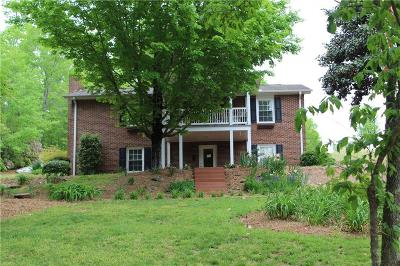 Greenville County Single Family Home For Sale: 1606 New McElhaney Road