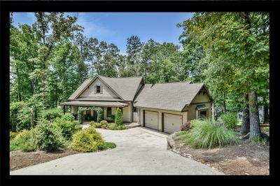 Keowee Key Single Family Home Contract-Take Back-Ups: 50 Commodore Drive
