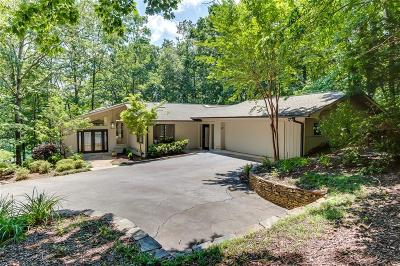 Keowee Key Single Family Home Contract-Take Back-Ups: 22 Quartermaster Drive
