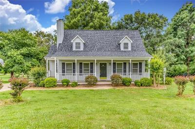 Single Family Home Contract-Take Back-Ups: 1100 Old Mill Road