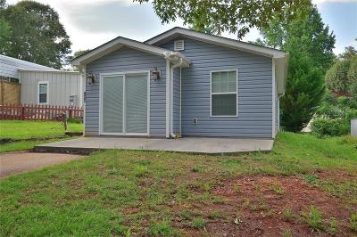 Westminster SC Single Family Home For Sale: $76,900