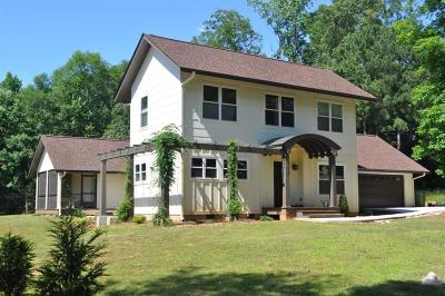 Clemson Single Family Home Contract-Take Back-Ups: 307 Azalea Drive