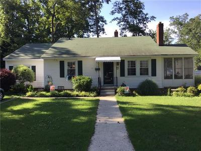 Anderson Single Family Home For Sale: 510 Boundary Street