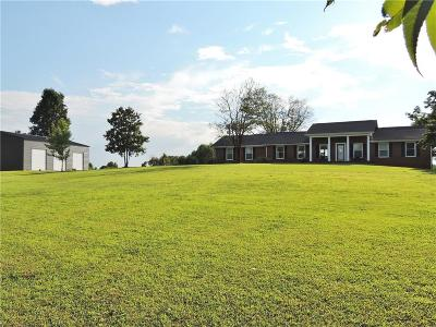 Oconee County Single Family Home Contract-Take Back-Ups: 255 Mountain Spring Road