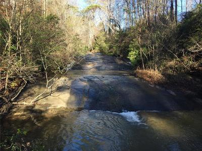 Oconee County, Pickens County Residential Lots & Land Contract-Take Back-Ups: 00 Boone Creek Road