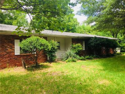 Anderson Single Family Home For Sale: 4500 Old Mill Road