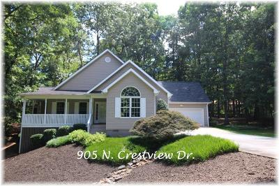 Single Family Home For Sale: 905 N Crestview Drive