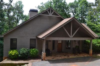 Anderson County, Oconee County, Pickens County Single Family Home For Sale: 245 Horseshoe Bend Drive