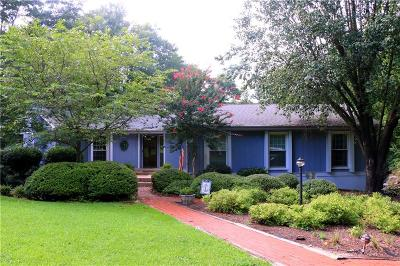 Anderson County, Oconee County, Pickens County Single Family Home For Sale: 503 Edgewater Drive