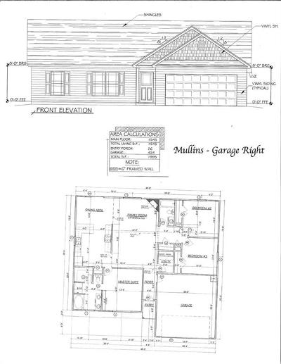 Marlynn Acres Single Family Home For Sale: Lot 53 Linmar Circle