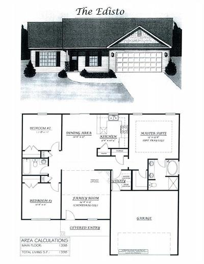 Marlynn Acres Single Family Home For Sale: Lot 54 Linmar Circle