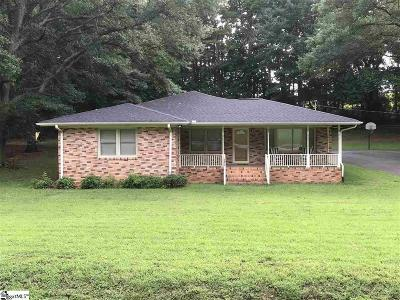 Pickens Single Family Home Contract-Take Back-Ups: 122 Medlin Drive