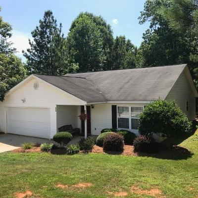 Liberty Single Family Home Contract-Take Back-Ups: 404 Tallahatchie Trail