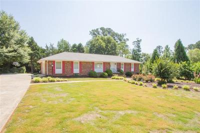 Clemson Single Family Home Contract-Take Back-Ups: 111 Evergreen Drive