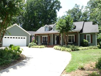 Single Family Home Contract-Take Back-Ups: 3019 Lake Keowee Lane