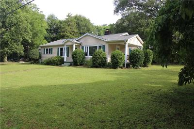 Clemson Single Family Home Contract-Take Back-Ups: 209 Wesley Street