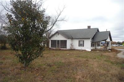 Piedmont Single Family Home For Sale: 1923 Highway 8 Highway