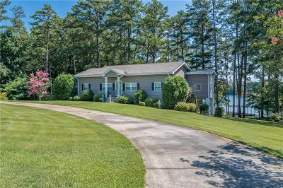 Anderson County, Oconee County, Pickens County Single Family Home For Sale: 503 Broyles Point Road