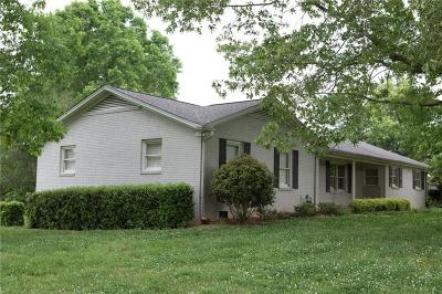 Liberty Single Family Home For Sale: 734 Sharon Church Road
