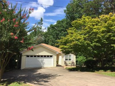 Single Family Home For Sale: 1002 Chickasaw Drive