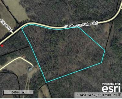 Oconee County, Pickens County Residential Lots & Land For Sale: 31 Acres Chattooga Ridge Road