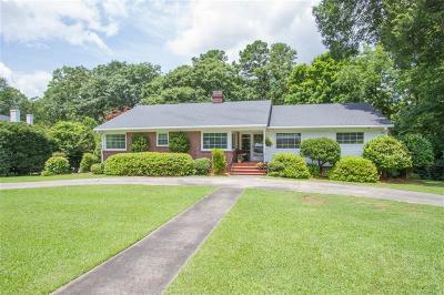 Anderson Single Family Home For Sale: 1105 Springdale Road