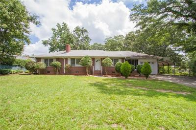 Belton Single Family Home Contract-Take Back-Ups: 159 Rice Road