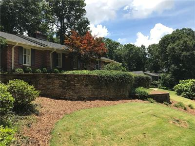 Greenville County Single Family Home For Sale: 14 Harbor Oaks Drive