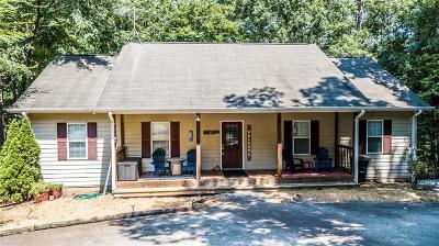 Martin Single Family Home For Sale: 1852 Seven Forks Trail